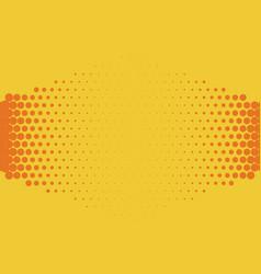 halftone background comic background vector image