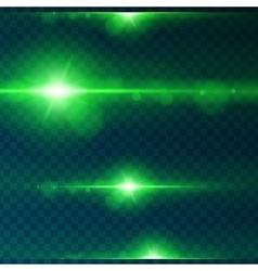 Light effect flare lighting vector image
