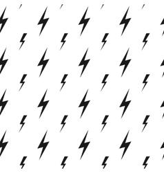 Lightning bolts thunderbolts seamless vector
