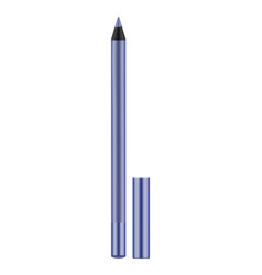 lilac realistic eyeliner with cap vector image