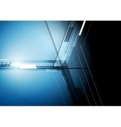 Technical dark corporate background vector image vector image