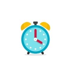 Alarm clock icon isolated on vector image vector image