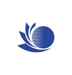 technology logo vector image vector image