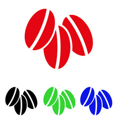 wheat seeds icon vector image vector image