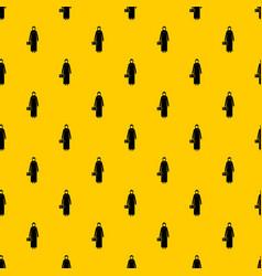 Arabic woman pattern vector