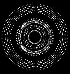Circle pattern wallpaper vector