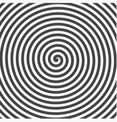 Hypnotic spiral background vector