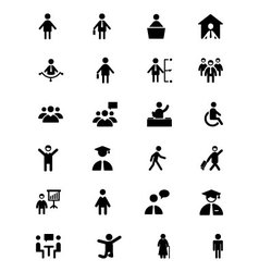 People Icons 1 vector