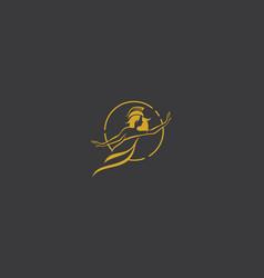 princess queen logo icon vector image