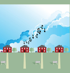 residential load music vector image