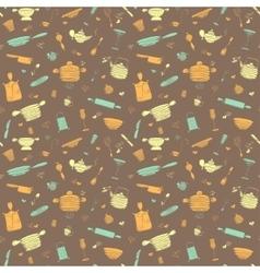 Seamless pattern - My kitchen 3 vector