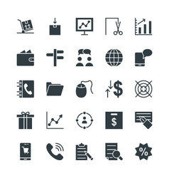 Trade Cool Icons 3 vector