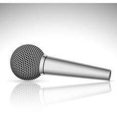 microfone vector image vector image