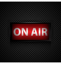 ON AIR vector image vector image