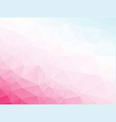 abstract triangular pink violet white blue vector image