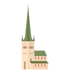 church religion vector image