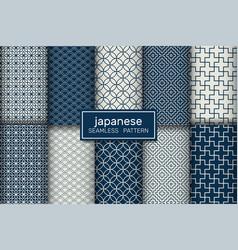 Japanese seamless pattern-2 vector