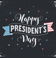 President day card vector