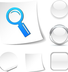Searching icon vector image
