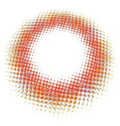 Abstract digital blob halftone flash plus eps10 vector