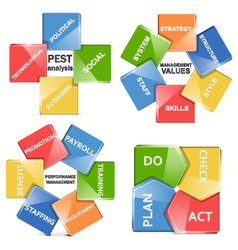 management systems vector image