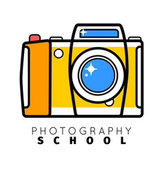 Photo studio or professional photographer logo vector