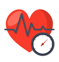 Blood pressure concept vector