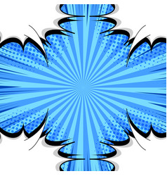 comic explosive concept vector image