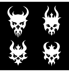 death skulls vector image