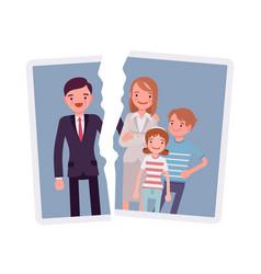 Family breakup problem vector