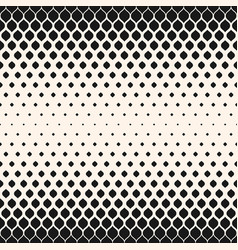 Halftone seamless pattern mesh rhombuses texture vector
