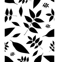leaves trees vector image