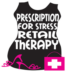Retail Therapy vector image