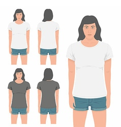 Women t-shirt design template vector