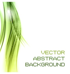 background green left vector image vector image