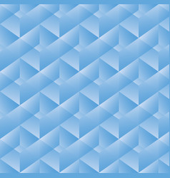 geometric pattern with blue rectangles vector image vector image