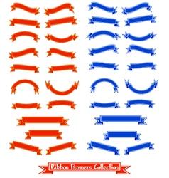 Ribbon-banners vector image