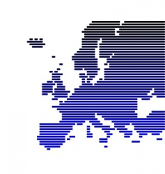 map of Europe vector image