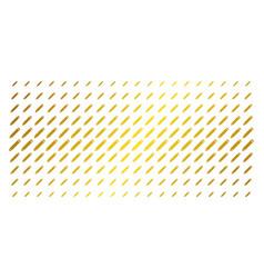 Edit pencil gold halftone array vector