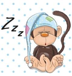 Sleeping Monkey vector