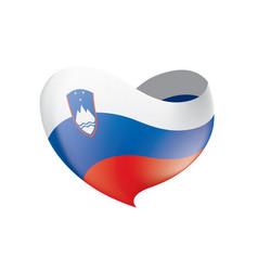 Slovenia flag vector