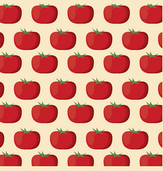 Tomato nutrition seamless pattern image vector