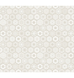 Wallpaper with stylized snowflakes vector image
