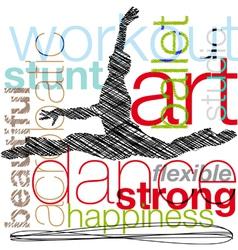 Ballet vector image vector image