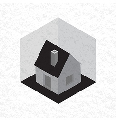 Symbol of house vector image