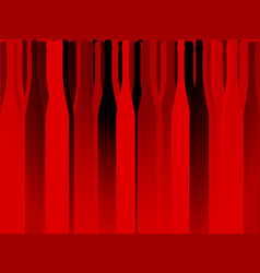 bottle alcohol red background vector image
