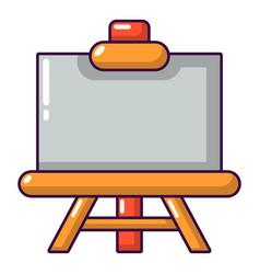Canvas icon cartoon style vector