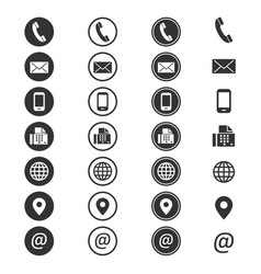 Contact Icon Vector Images Over 93 000