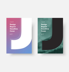 Design with a soft gradient and a place for a vector