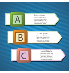 info graphics arrows structure vector image